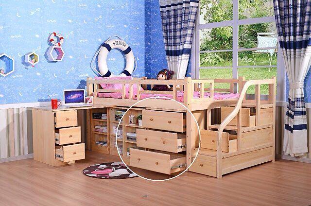 儿童套房家具 组合床