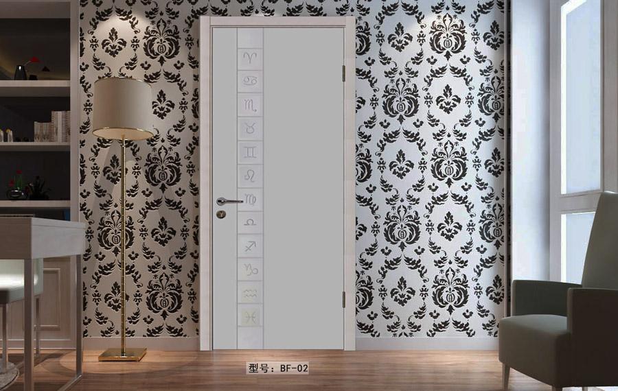 盼盼實木復合烤漆門BB02|室內門
