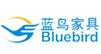 蓝鸟家具供应板式衣柜