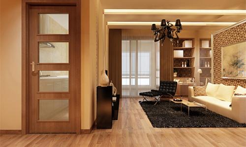 广千木门整木定制的六新新模式